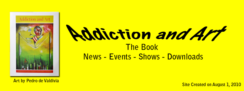 Addiction and Art Banner