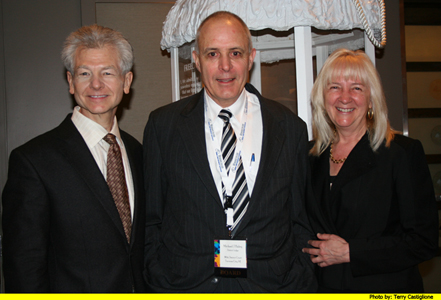 Photo of Dr Jack Henningfield, Judge Michael J. Haley, Dr Margaret Dowell